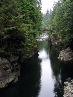 Capilano Canyon, near the Cable Pool