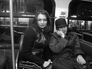 Neal Lantela and Lauren Priest