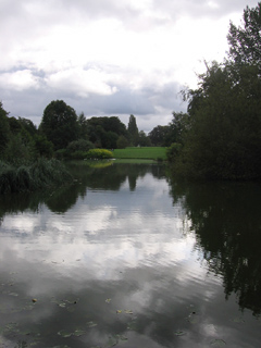 Pond in the University Parks, Oxford