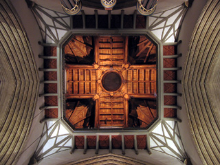 Ceiling of the Merton College Chapel, Oxford