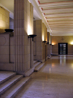 Hall in the University of London