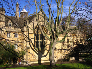 Back Quad, Wadham College