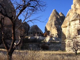 Fairy chimneys in Capadocia