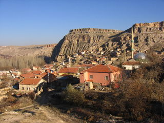 Village in the Ihlara Valley