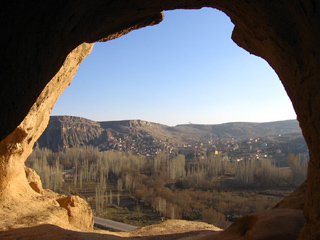 View from Selime Monastary