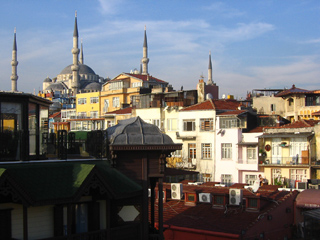 Blue Mosque and other buildings
