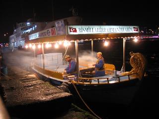 Fish vendors, Istanbul