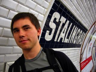 Stalingrad metro station