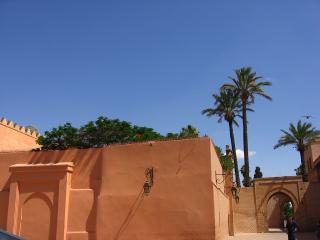 City walls in Marrakesh