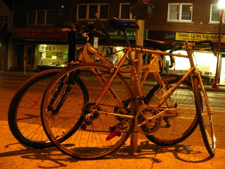 Twinned bicycles
