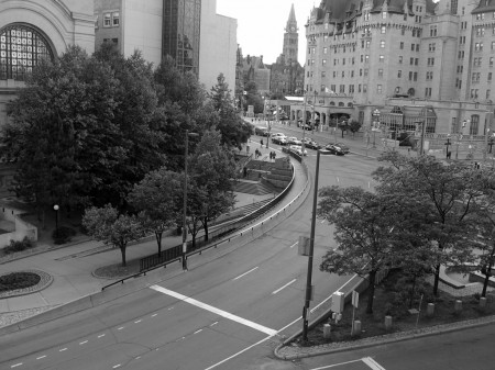 Rideau Street intersection, Ottawa