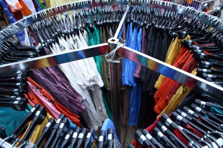 Circular clothing rack