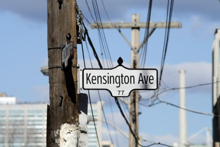 Kensington Avenue sign