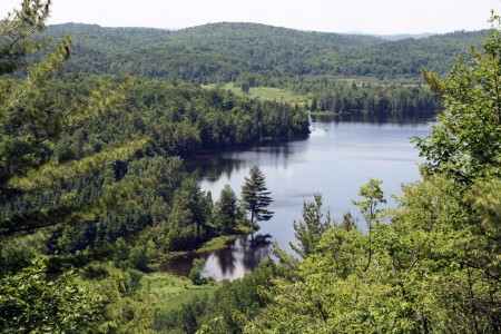 Lake in the Gatineau Park
