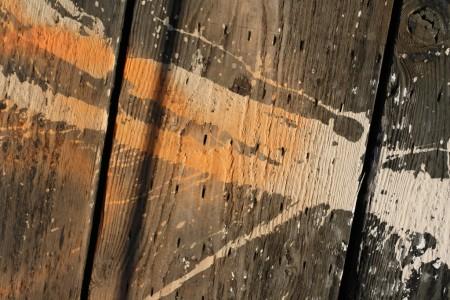Paint splash on wood