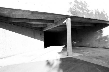 Concrete underpass, Ottawa
