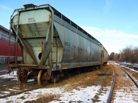 Train car in Vermont