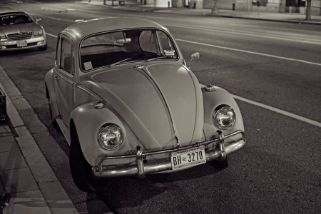 VW beetle, Washington D.C.