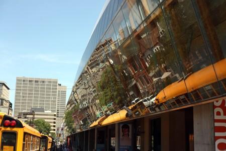 Front facade, AGO