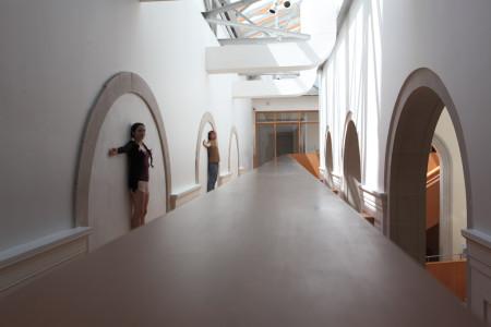 Clara Steinhagen and Milan Ilnyckyj at the Art Gallery of Ontario