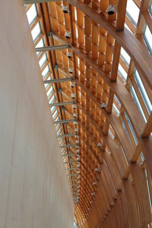 Structual beams, Art Gallery of Ontario