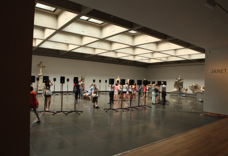Acoustic exhibit, Art Gallery of Ontario