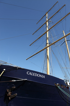 Tall ship: Caledonia