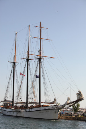 Tall ship: Empire Sandy 1/2