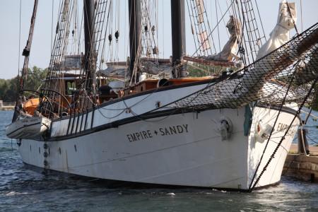 Tall ship: Empire Sandy 2/2