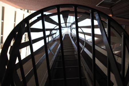 Locked ladder