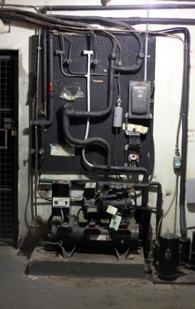 Electrical gear, Hart House basement