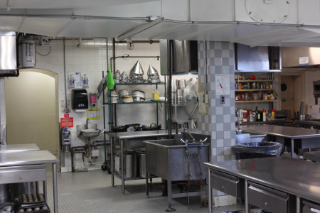 Hart House kitchen