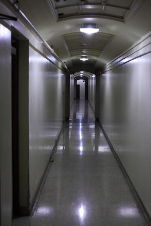 Basement corridor, Hart House