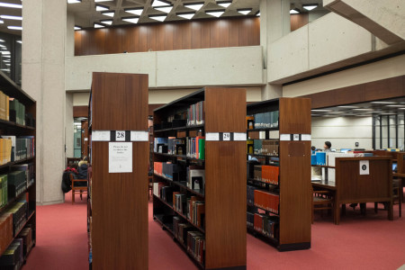 Bookshelves in Robarts