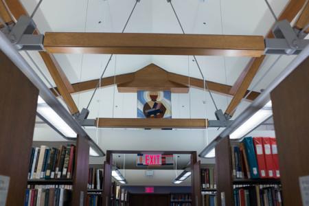 Graham Library, University of Toronto 1/3