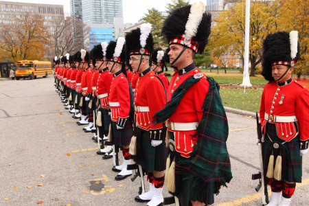 Remembrance Day, Queen's Park, Toronto