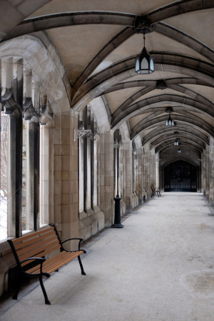 Cloisters at Knox College, University of Toronto