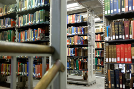 Stacks of the Knox College Library 2/2
