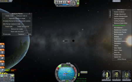 Atomic rocket in Kerbal Space Program