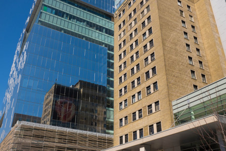 Hospital in central Toronto
