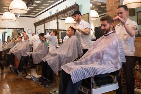Crow's Nest barbershop, Toronto
