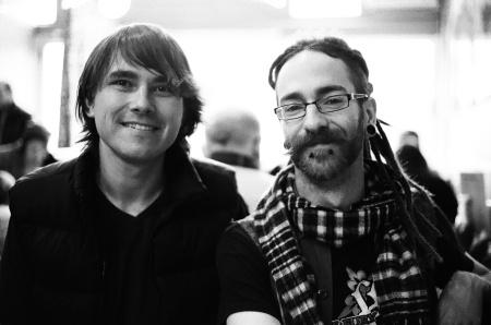 Milan Ilnyckyj and Drew Sexsmith