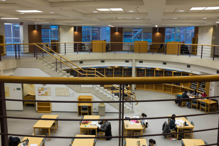 Noranda Earth Sciences Library, University of Toronto