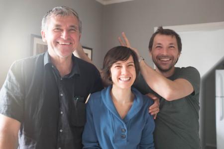 Oleh Ilnyckyj, Katrusia Balan, and Oleksa Slywynskyj 1/2