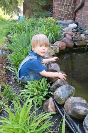 Pond play