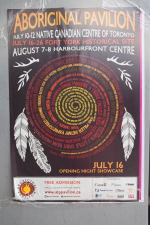 """Aboriginal Pavilion"""