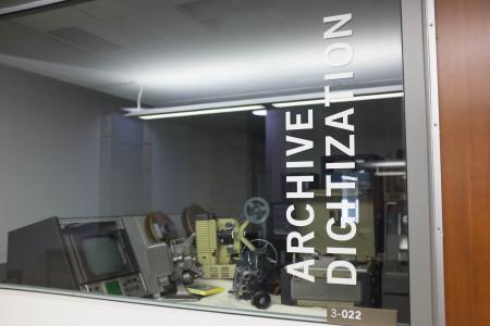 """""""Archive digitization"""" at Robarts Library"""