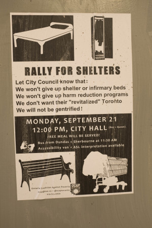 """Rally for Shelters"""