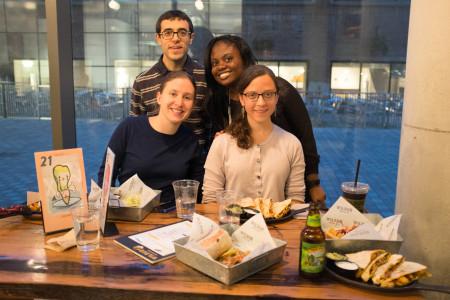 Johanna and friends