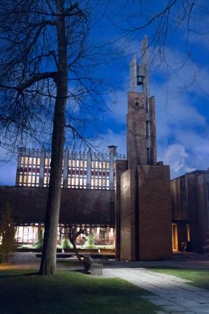 Massey College in November